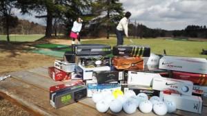 2015年新作ゴルフボール15種類